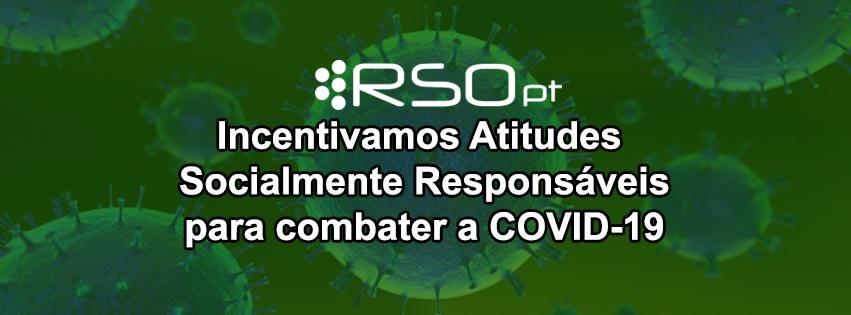 Incentivamos Atitudes Socialmente Responsáveis para combater o COVID-19